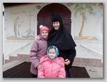 С монахиней Свято-Никольский женский монастырь Могилев